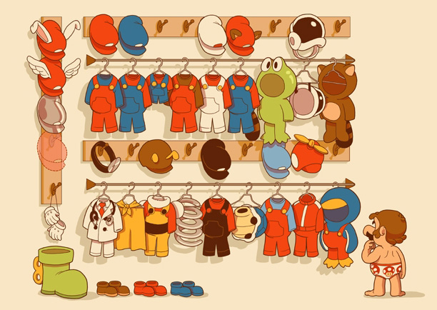 "Glen Brogan ""Mario's Closet"""