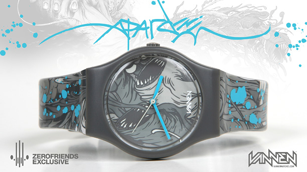 Alex Pardee - Vanen Watches