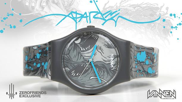 Alex Pardee - Vanen Watches