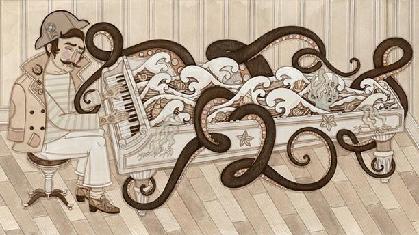 """Evan B. Harris """"Seaweed & Piano Keys"""""""