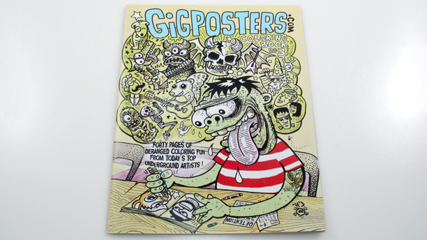 Gigposters.com Coloring Book: Volume 3