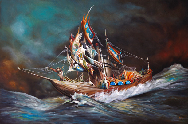 """Esao Andrews """"Solid Void"""" at Jonathan LeVine Gallery"""