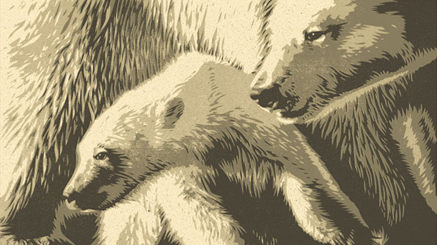 "Shepard Fairey ""Arctic 50th Anniversary Print"""