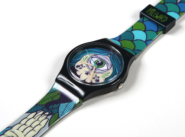 Drew Millward for Vannen Art Watches