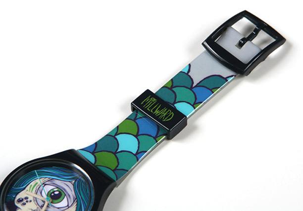 Drew Millward for Vannen Art Watches