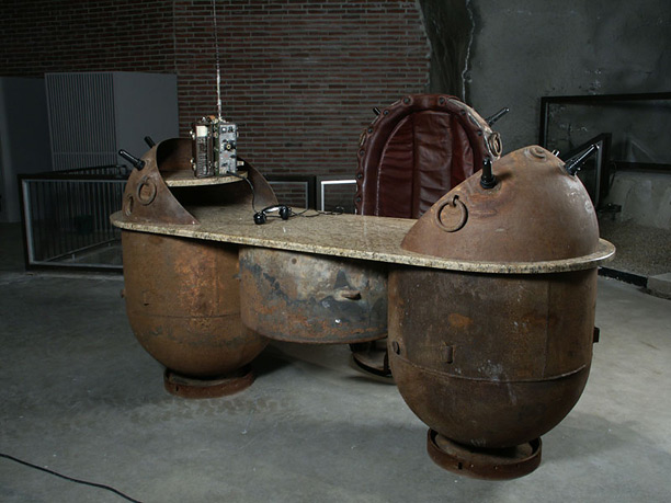 Mati Karmin's Sea Mine Furniture