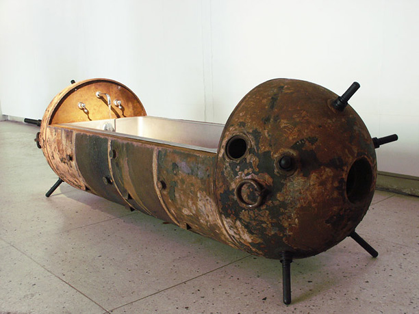 Mati Karmin's Sea Mine Furniture