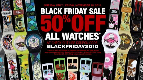 Vannen Art Watches 50% off