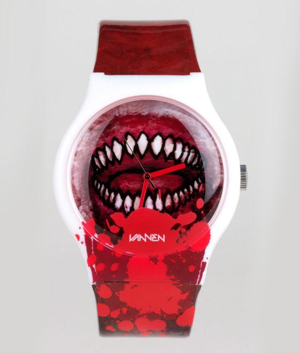 """Luke Chueh """"Bloody Valentine"""" by Vannen Art Watches"""