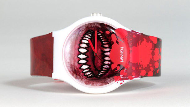 "Luke Chueh ""Bloody Valentine"" by Vannen Art Watches"
