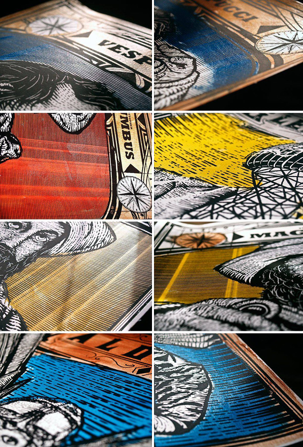 New Screenprints by Zeb Love