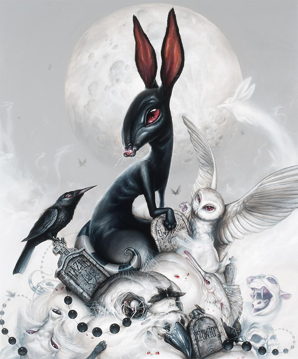 The Elil And Fu Inle´ by Greg 'Craola' Simkins