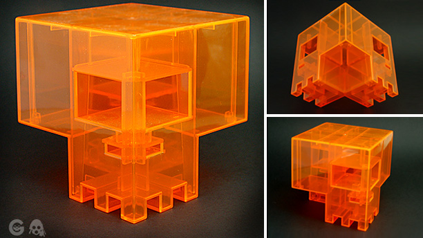 Playge Orange Sqube