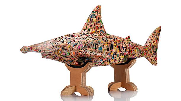 Haroshi - Skateboard Sculptures - FlightPattern