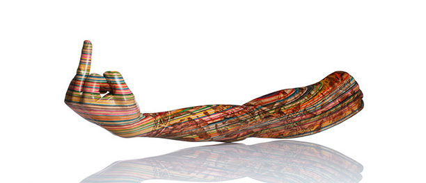 Haroshi - Skateboard Sculptures - FlightPattern